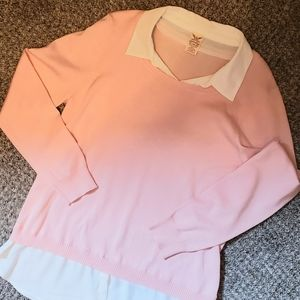 Faded Glory Women's Collared Sweater NWOT